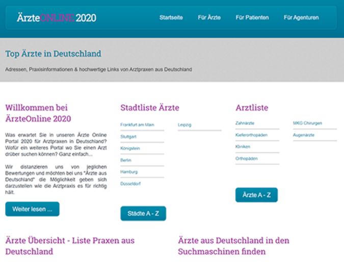 Offpage SEO Linkaufbau für Ärzte in Deutschland