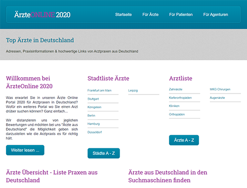 Werbeagentur Backlinks Weilrod